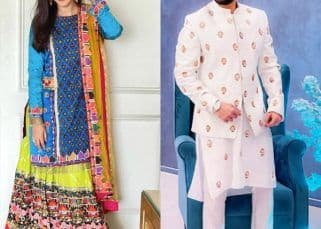 Eid Mubarak: Newly-weds Gauahar Khan and Zaid Darbar deck up in the best of traditional attire - view pics
