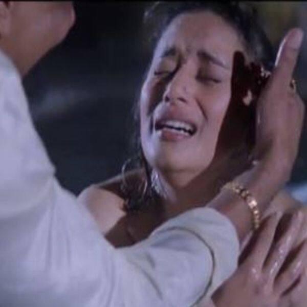 Ranjit and Madhuri Dixit