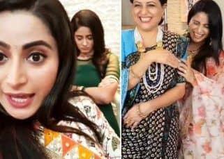 Ghum Hai Kisikey Pyaar Meiin के सेट पर Aishwarya Sharma ने पकड़ी Ayesha Singh की चोरी, Kishori Shahane संग की मस्ती