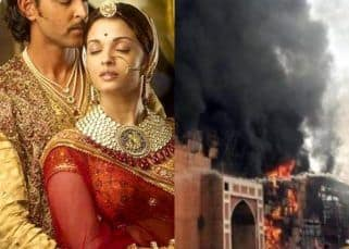 Jodhaa Akbar set destroyed as a major fire breaks out at Karjat's ND studio – watch video