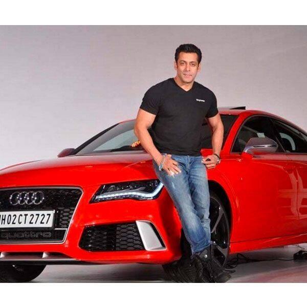 Take a look at Salman Khan's car collection