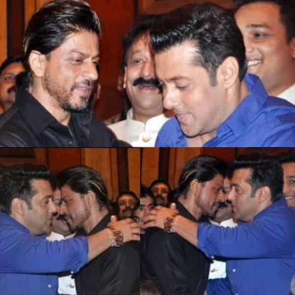 The iconic bonding between Shah Rukh Khan and Salman Khan