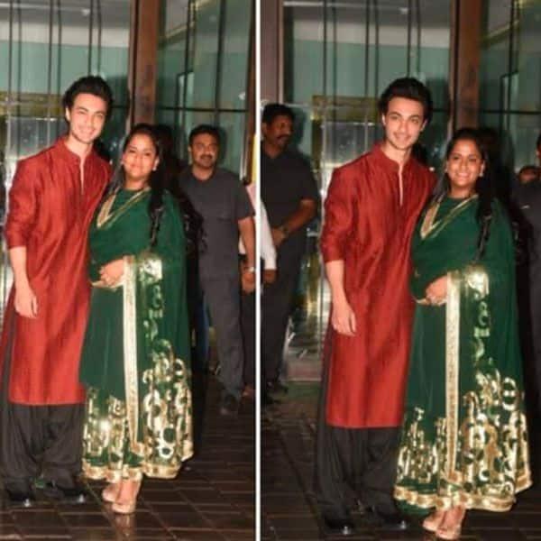 Arpita Khan and Aayush Sharma turned hosts for the night