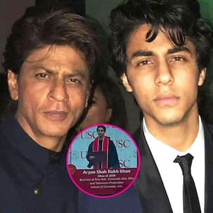 Shah Rukh Khan's son Aryan Khan's pic from his graduation ceremony takes the internet by storm; is the star kid ready for his debut?