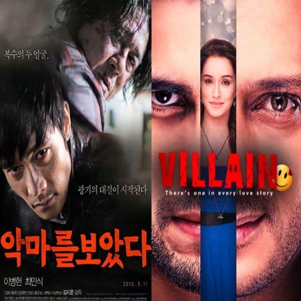 I Saw the Devil (2010) and Ek Villain (2014)