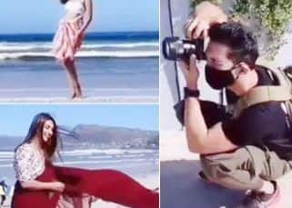 Khatron Ke Khiladi 11: Divyanka Tripathi gives a desi touch to beachwear; Sana Makbul slays in a white bikini while Abhinav Shukla turns photographer