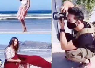 Khatron Ke Khiladi 11: Divyanka Tripathi gives a desi touch to beachwear; Sana Makbul slays in a white bikini while Abhinav Shukla turns photographer