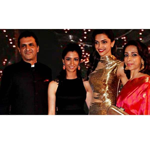 A look at Deepika's happy family pictures