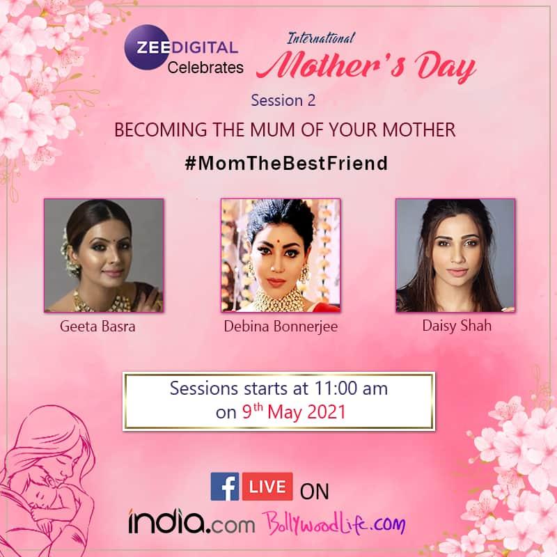 Seema Pahwa, Himani Shivpuri, Urvashi Dholakia, Daisy Shah, Debina Bonnerjee, Geeta Basra, Bhagyashree, Debina Bonnerjee, Rajeshwari Sachdev, Mother's Day 2021, Happy Mother's Day 2021, mothers day, mother's day special, mother's day 2021 special, mother's day 2021 movies, mothers day movies, movies with mother, mothers day bollywood movies, mothers day latest news, mothers day celebs wishes, mothers day movies to watch, classic film, bollywood moms, bollywood tweets on mother's day, bollywood best real life mothers, on-screen mothers of bollywood, Mom-Child moments, bollywood mother's day songs, mother's day special songs 2021, mother's day special songs, bollywood news, bollywood, entertainment news