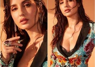 Nora Fatehi turns up the heat as she goes glam in this bold pantsuit – view pics