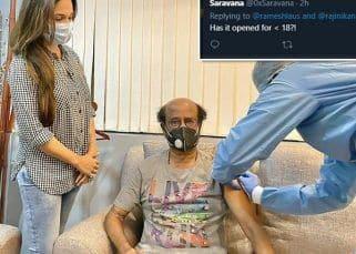 Rajnikanth ने लगवाई कोरोना वैक्सीन की दूसरी डोज, तो चौंके लोग, ट्वीट कर कहा, '18 साल से कम के लोगों के लिए खुल गई क्या?'