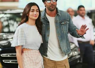 Ranbir Kapoor and Alia Bhatt's under construction abode massively affected by the Tauktae cyclone – watch video