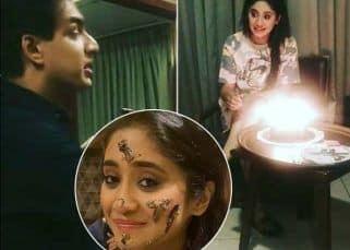 Yeh Rishta Kya Kehlata Hai के सेट पर Shivangi Joshi ने मनाया 26वां जन्मदिन, Mohsin Khan ने यूं दिया सरप्राइज