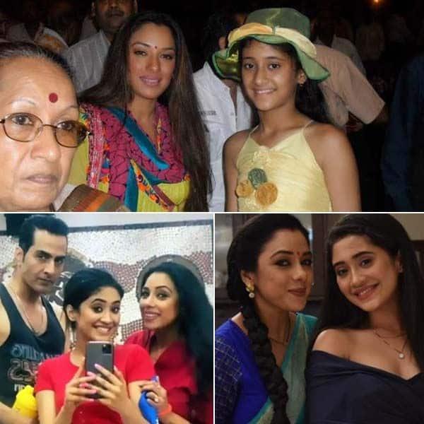 शिवांगी जोशी (Shivangi Joshi) और रूपाली गांगुली (Rupali Ganguly) की 9 अनदेखी तस्वीरें