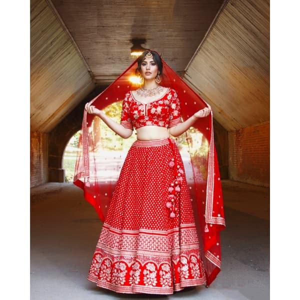 Sonia Rathee's bridal photoshoot