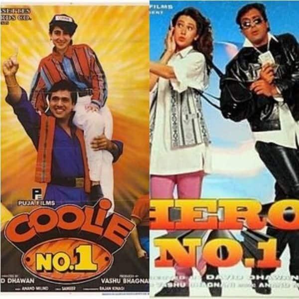 Take a look at Govinda's 'No. 1' movies