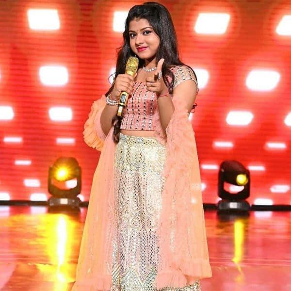 Beauty queen of Indian Idol 12