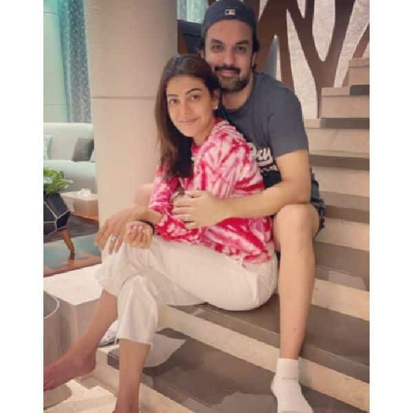 Kajal Aggarwal's love soaked pics with Gautam Kitchlu
