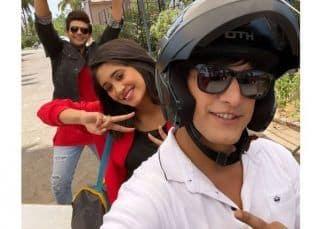 Yeh Rishta Kya Kehlata Hai: Mohsin Khan, Shivangi Joshi, Karan Kundrra dish out #BFFGoals in these BTS pictures