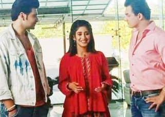 Yeh Rishta Kya Kehlata Hai: Mohsin Khan shares pictures with Karan Kundrra, Shivangi Joshi and others as they shoot for an interesting scene