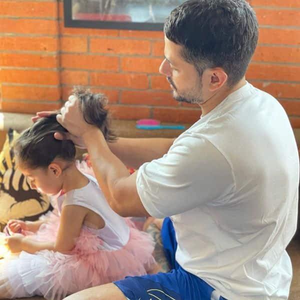 Daddy duties