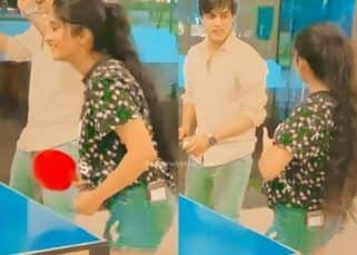 Yeh Rishta Kya Kehlata Hai: Mohsin Khan-Shivangi Joshi team-up to play table tennis against on-screen son, Aarambh Tehran and Siddharth Dubey – watch fun BTS video
