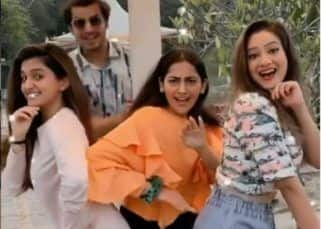 Anupamaa: Paras Kalnawat, Anagha Bhosale, Madalsa Sharma and Nidhi Shah's reel will tickle your funny bone