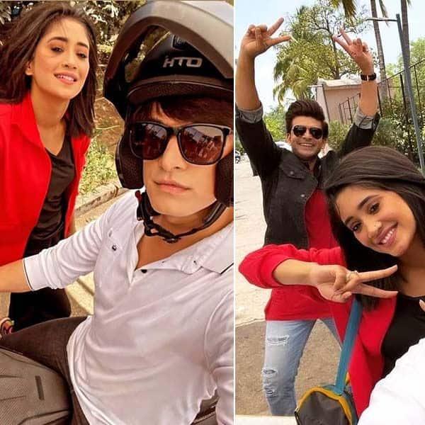 'ये रिश्ता क्या कहलाता है' के सेट पर शिवांगी जोशी (Shivangi Joshi) ने मचाया धमाल