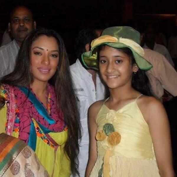 सालों पहले रूपाली गांगुली से मिली थीं शिवांगी जोशी (Shivangi Joshi)