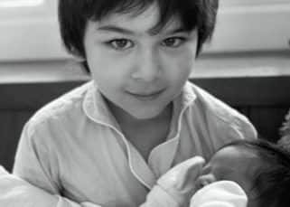 Mother's Day 2021: Kareena Kapoor Khan shares a beautiful pic of Taimur holding his baby brother; says, 'These two give me hope'