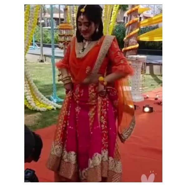 कुचिपूड़ी करती दिखी सीरत (Shivangi Joshi)