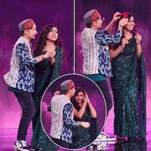 Indian Idol 12: Arunita Kanjilal की बाहों में बाहें डाल रोमांस करेंगे Pawandeep Rajan, 'अरुदीप' का ये अंदाज देख थम जाएंगी फैंस की सांसें