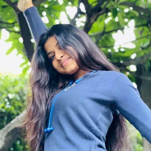 अरुणिता कांजीलाल का दिखा चुलबुला अंदाज