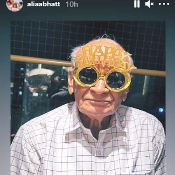 93 साल के हो गए नाना