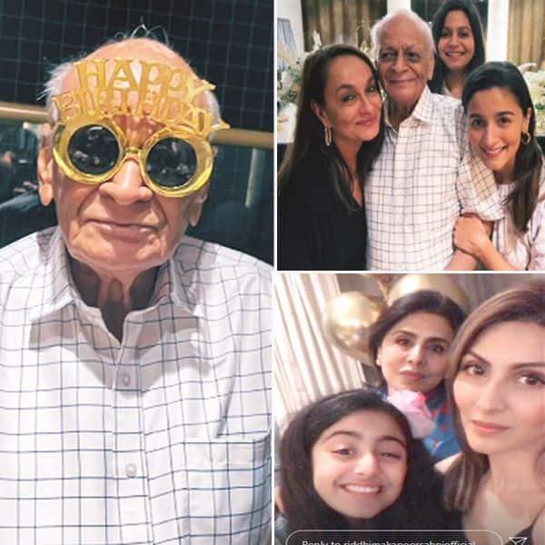 आलिया भट्ट (Alia Bhatt) के नाना की बड्डे पार्टी की तस्वीरें वायरल