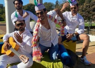 Khatron Ke Khiladi 11: Arjun Bijlani returns to India and his pictures with his boy gang are too cool to handle