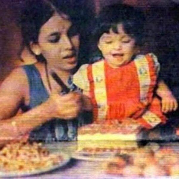 मां के साथ जन्मदिन मनाती Aishwarya Rai Bachchan