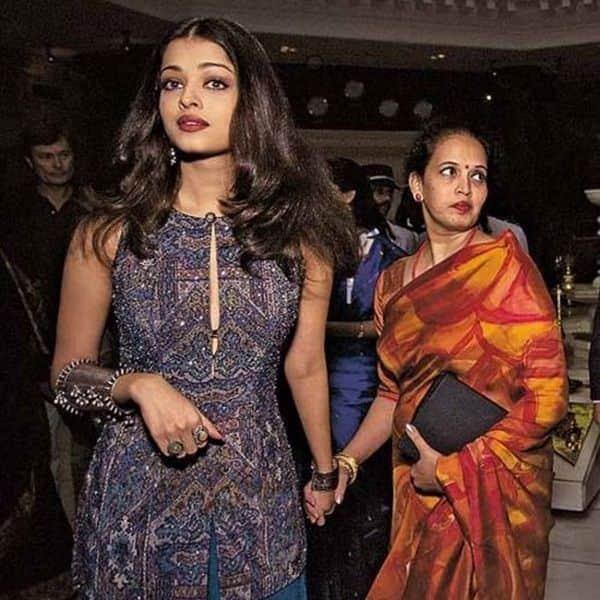मां ने हर मोड़ पर दिया Aishwarya Rai Bachchan का साथ
