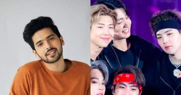 Singer Armaan Malik reveals he is grateful to the K-pop band for THIS reason