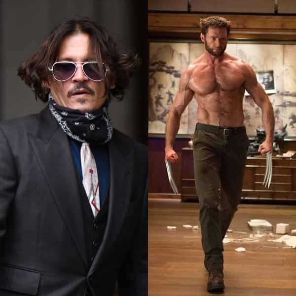Johnny Depp – Wolverine – Hugh Jackman