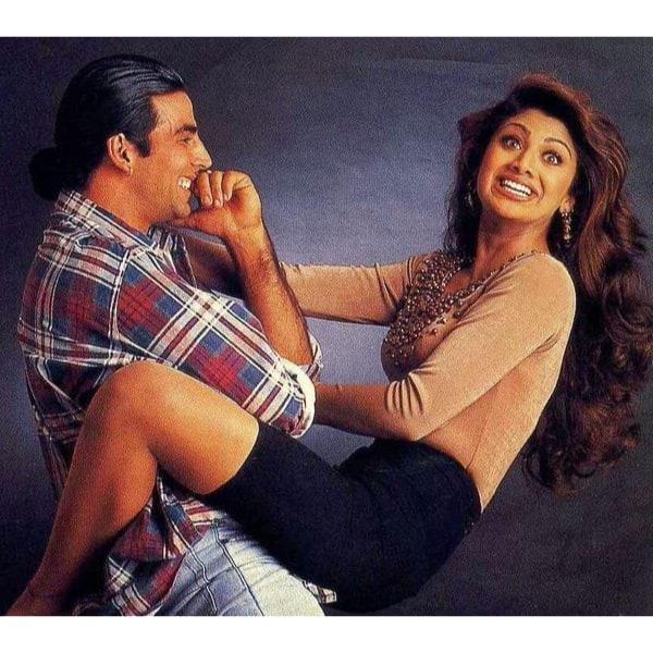 Shilpa Shetty-Akshay Kumar