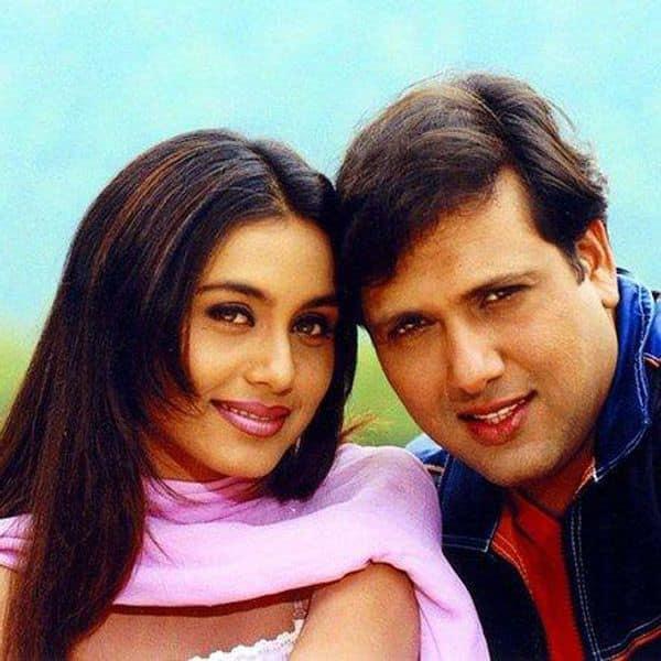 Govinda and Rani Mukerji's affair