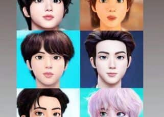 BTS: Bowled over by Jin/ Kim Seokjin's unreal Disney prince looks? Wait till you check out how cool V, JHope, RM, Suga look in illustrated avatars