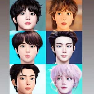 BTS: Bowled over by Kim Seojkin's unreal Disney prince looks? Wait till you check out how cool V, JHope, RM, Suga look in illustrated avatars