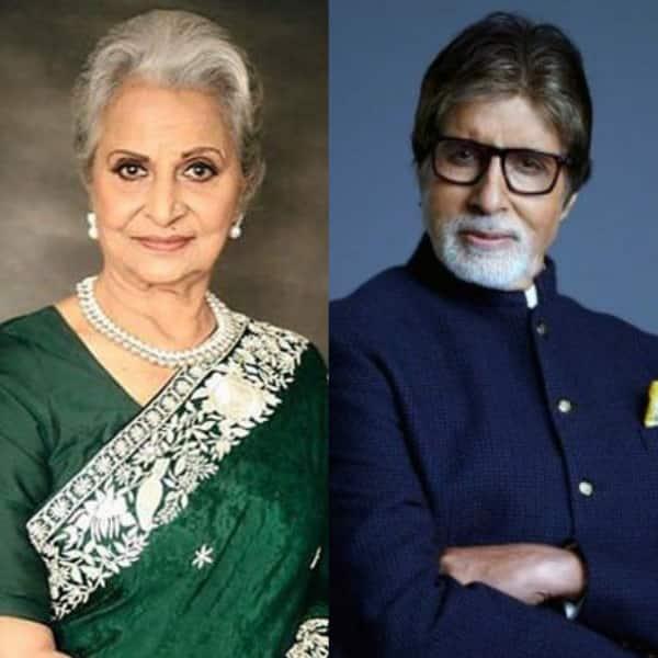 Amitabh Bachchan-Waheeda Rehman