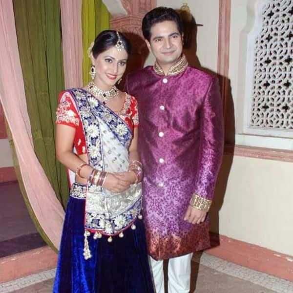 हिना खान और करण मेहरा (Hina Khan and Karan Mehra)