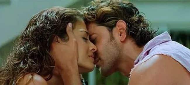 Hrithik Roshan and Aishwarya Rai (Dhoom 2)