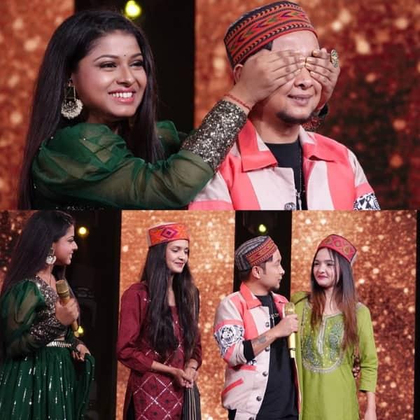 Arunita's surprise for Pawandeep