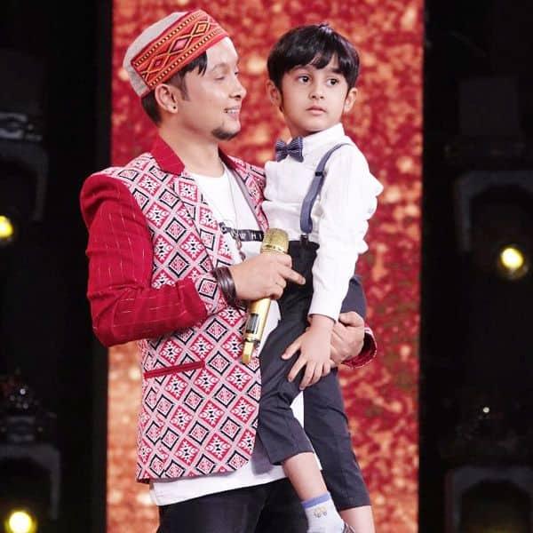 Pawandeep Rajan gifts his special cap to Little Drummer Boy Joey