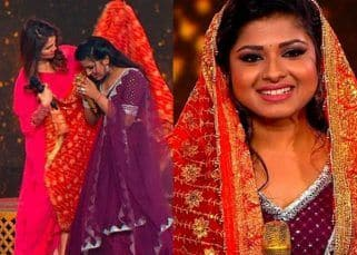 Indian Idol 12: Sonu Kakkar drapes Arunita Kanjilal with THIS special piece of clothing after her performance – view pics